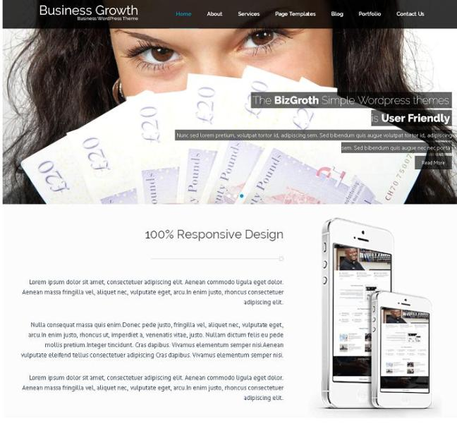 Business Growth_Free WordPress Themes